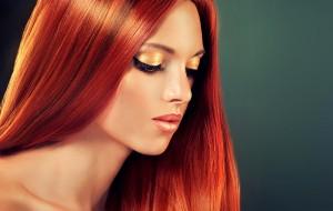 Trendhaarfarbe Rot: So pflegen Sie rote Haare richtig ...