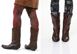 Cowboy- und Westernstiefel sind im Trend
